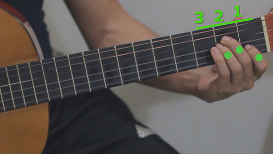finger pain when playing the guitar